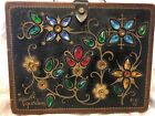 Enid Collins 1965 Jewel Garden Woden Box Bag Purse