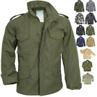 Camo Military M 65 Field Coat Camouflage Army M65 Tactical Uniform Jacket M1965