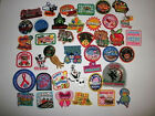 Lot of 40 Girl Scout Fun Patches