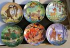 Walt Disney Bambi complete set of 6 First Edition Series plates