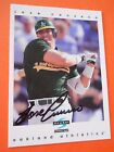 Jose Canseco Cards, Rookie Cards and Autographed Memorabilia Guide 20