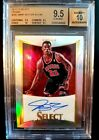 2012-13 SELECT JIMMY BUTLER RC.AUTO #168 199 SILVER PRIZM BGS 9.5 10 GEM MINT