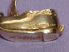 Vintage 9ct Gold Opening Dutch Clog Boat with Boy  Girl inside Cloggy34g