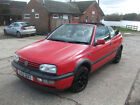 LARGER PHOTOS: 1994 CLASSIC GOLF 2.0 CONVERTIBLE - STARTS RUNS & DRIVES WITH MOT TO AUGUST 2018