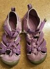 Girls Size 4 Purple KEENs