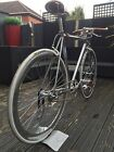 Fuji Feather Retro Custom Single Speed Fixie Bike Campagnolo Record Pista Brooks