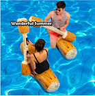Inflatable Joust Pool game Sport Toy for Adult  Children 4 PCS Party Summer