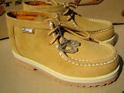 New Buffalino Men Leather Boots Size 95 Color Wheat