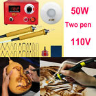 2550100w Multifunction Wood Burning Tool Machine Set2 Pyrography Pen Kit Tips