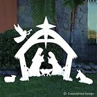 EasyGo Large Outdoor Nativity Scene Large Christmas Yard Decoration Set and