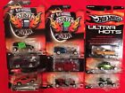 LOT OF 9 HOT WHEELS STREET SHOW AND ULTRA HOTS CARS