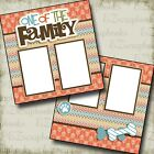 ONE OF THE FAMILY DOG 2 Premade Scrapbook Pages EZ Layout 2546