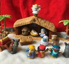 Fisher Price LITTLE PEOPLE Christmas Story Nativity COMPLETE in BOX Lights Sound
