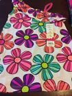 SIZE 4 GIRLS JUMPING BEAN SLEEVELESS TOP WITH HUGE FLOWERS SUPER CUTE BABYDOLL