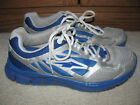 Avia Mens Teen Boys Size 8 Sprint Athletic Running Shoes Sneakers Blue Silver