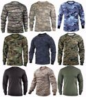 Rothco Military Tactical Long Sleeve Camo T Shirts Sizes S 2XL