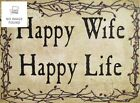 Farmisms 4x3 Inspirational Wooden Rustic Country Signs for Country Farm Living -