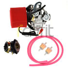 CARBURETOR W FILTER FUEL LINE INTAKE FOR 125cc 150cc GY6 Kazuma Redcat Scooters