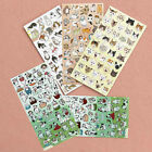 New Japan imported Cute Animal Cat Meng Pet Expression Cute Decorative Stickers