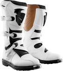 THOR MX Motocross 2015 BLITZ Boots White Choose Size