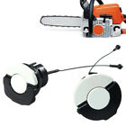 Gas Tank Fuel Cap + Oil Cap for Stihl Chainsaw MS210 MS230 MS250 MS360 Parts