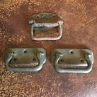 Lot of 3 Industrial Pulls - for use on drawer, horse stall, gate, door Vintage