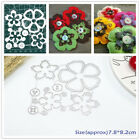 Cute Daisy Metal Cutting Dies Stencils for DIY Paper Cloth Craft Embossing Decor