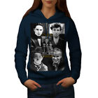Charlie Chaplin Women Hoodie S 2XL NEW  Wellcoda
