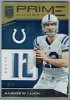 2017 ELITE PRIME NUMBERS JERSEYS PRIME #14 ANDREW LUCK #4 5
