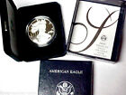 Gem Proof 2005 W American Eagle Silver Dollar 1 oz 999 Silver With Box and COA