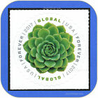 2017 GREEN SUCCULENT Global Forever 115 MINT Single Stamp Cat  5198