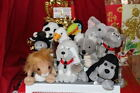 LOT OF 10 MIXED COKE COLA BEANBAG PLUSHUSA + 9 OTHERS 6MWNMTNICE GIFT