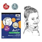 Tracing Sheet 50 Paper Pad 9 x 12 Sketches Overlay Drawing Line Art Book Color