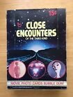1978 TOPPS CLOSE ENCOUNTERS OF THE THIRD KIND UNOPENED WAX BOX 36 CARD PACKS
