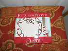 Fitz and Floyd Cheers Snack Plate & Spreader hors d'oeuvres treats hand painted