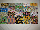 50 I SPY 6 Kids Novelty Quilt Block Squares Fabric No Dups