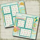 SUMMER FUN 2 Premade Scrapbook Pages EZ Layout 169