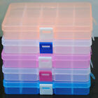 New 15 Slots Adjustable Jewelry Storage Box Case Craft Organizer Beads Organizer