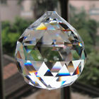 US Stock 100Pcs Clear Crystal Prisms Drop Glass Chandelier Lamp Hanging Pendant