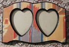 Valentine's Day Picture Frame-Shabby Heart 4.5