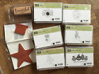Stampin Up Single Stamp ~ retired, Christmas Star, Ears to you, skateboard Peace