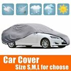 Universal Waterproof Large Car Cover Sun Uv Heat Rain Wind Snow Resistant Oy