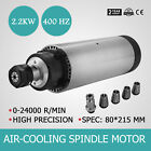 CNC 2.2KW  Air Cooled Spindle Motor 24000RPM Engraver Speed Controller GREAT HOT