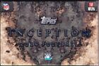 2014 Topps Inception Football Hobby Box - Factory Sealed!