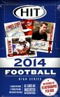 2014 Sage HIT High Series Football Hobby Box - Factory Sealed!