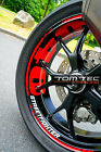 Wheel Sticker Ducati Streetfighter 848 1098 1198 S Naked Bike Rim Stripes Decal