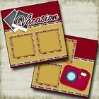 VACATION 2 Premade Scrapbook Pages EZ Layout 2520
