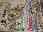 OVER 4 Lb Lot Of Vintage To Modern Costume Jewelry Necklaces Earrings Brooches++
