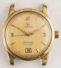 VINTAGE GOLD STAINLESS STEEL OMEGA SEAMASTER CALENDAR WATCH 2757-3 SC NEEDS TLC