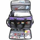 Luxja Sewing Carrying Cases Machine Bag, Tote For And Extra Accessories, Purple